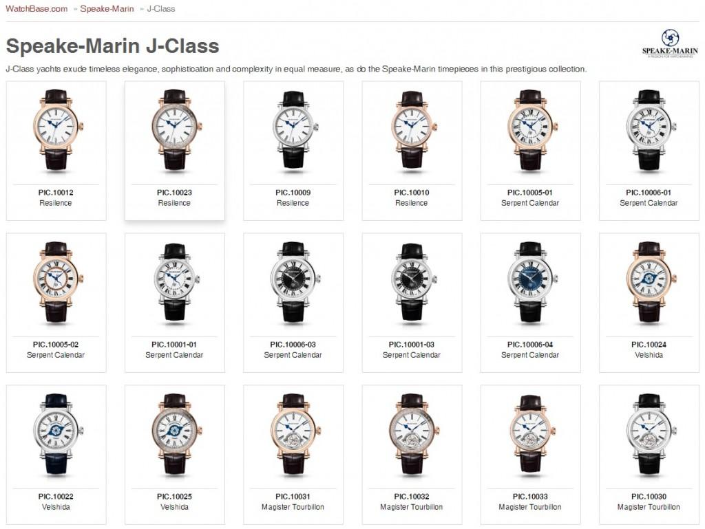 Speake-Marin J-Class