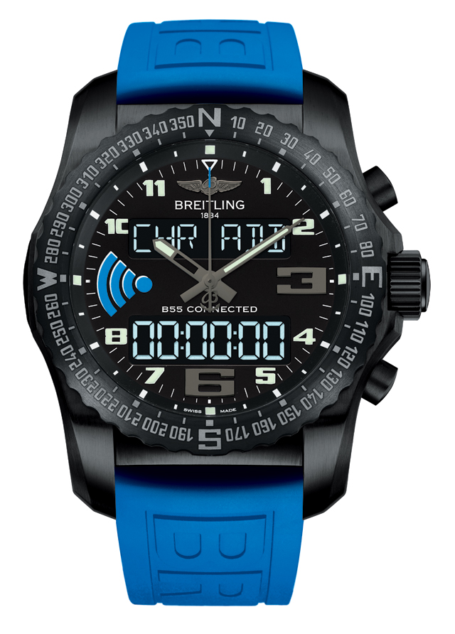 Breitling B55 Connected: the reverse smartwatch ...