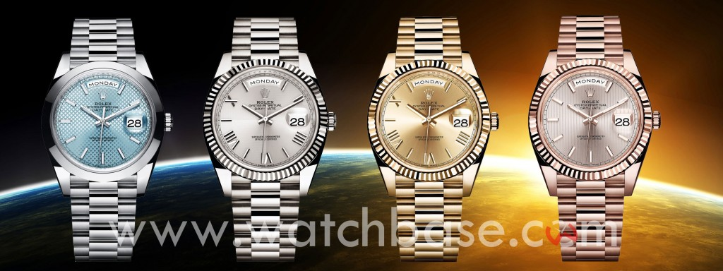 Rolex Day-Date 40 BaselWorld 2015