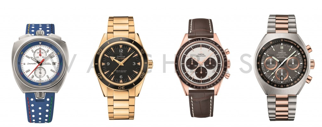 Omega 2015 Novelties
