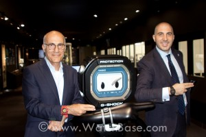 WatchBase Casio Factory Visit: David & Alon
