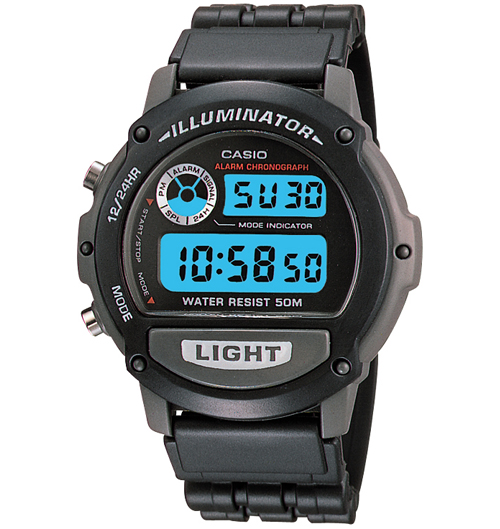 Casio W87H-1V (resin strap)
