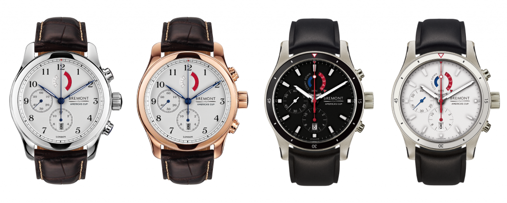 Bremont America's Cup Yachting Chronograph Collection BaselWorld 2016