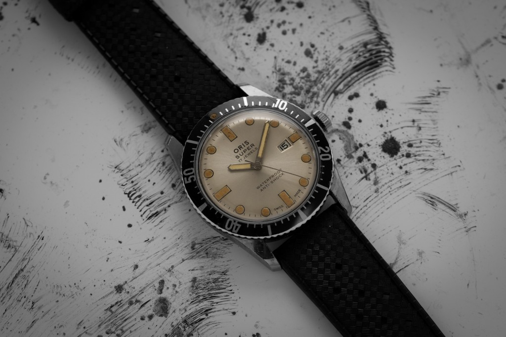Oris Vintage Dive Watch Silver Dial