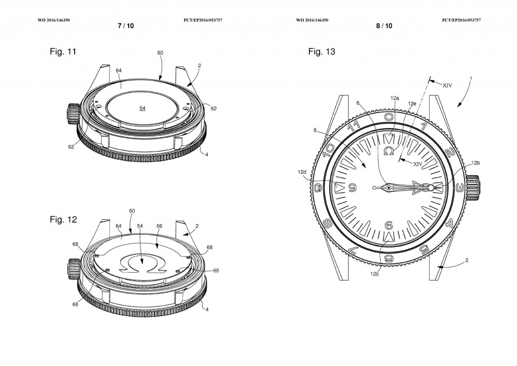 Omega Seamaster 300 Electrical Light Patent