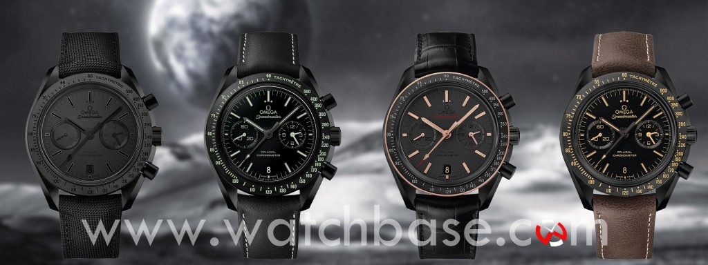 Omega Dark Side of the Moon Collection 2015