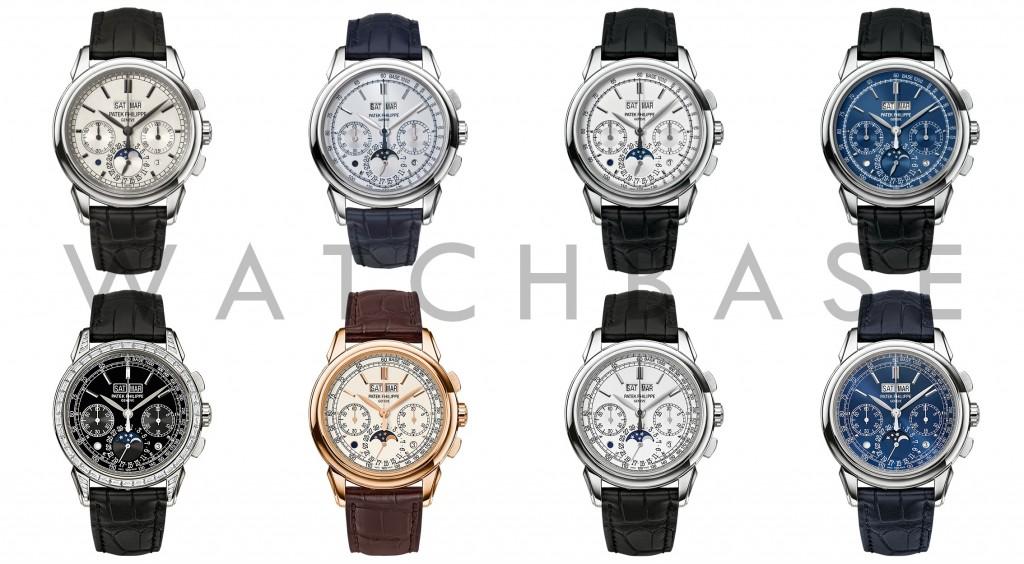 Patek Philippe 5270 dial variations