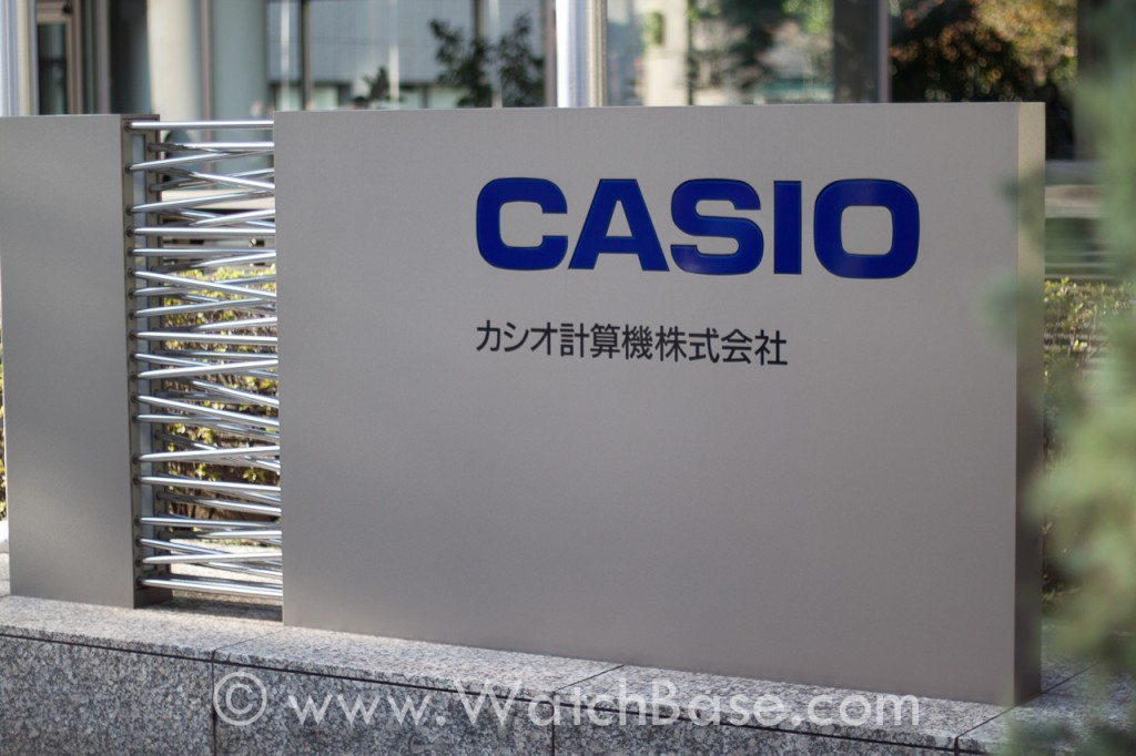 Alon in Japan - Casio HQ