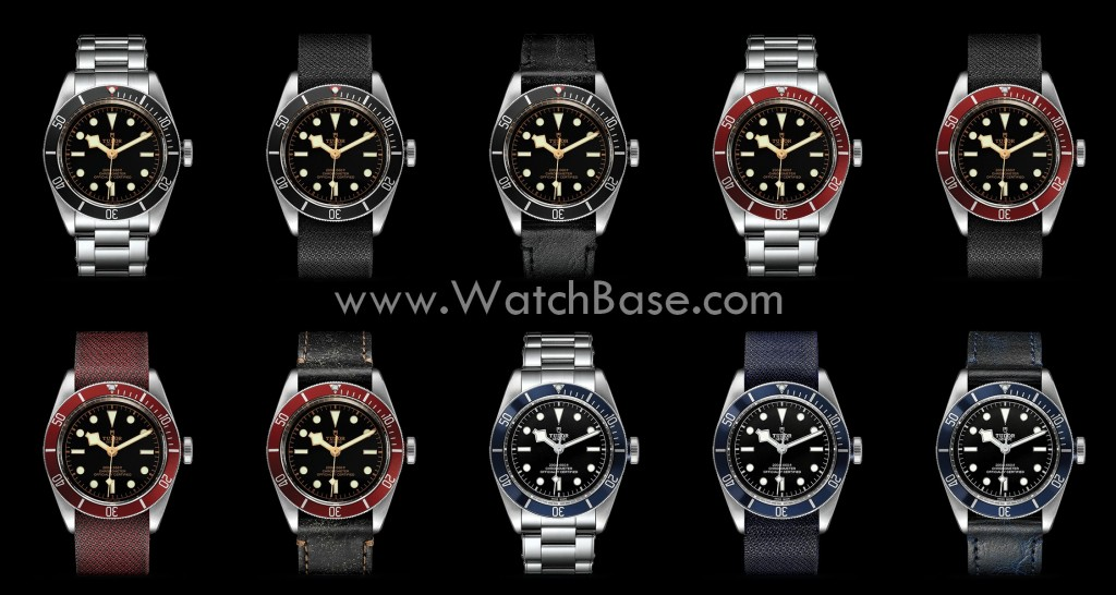 BaselWorld 2016 Tudor Black Bay with in-house movement
