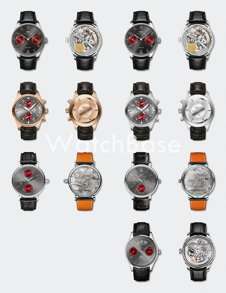 IWC Tribeca Editions 2013 - 2016