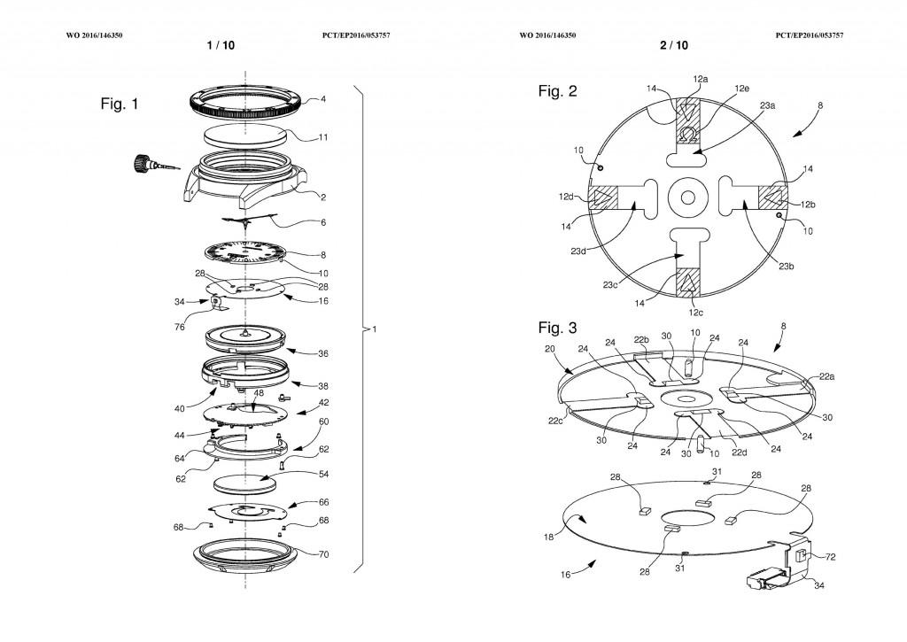 Omega Seamaster 300 Electrical Light Patent