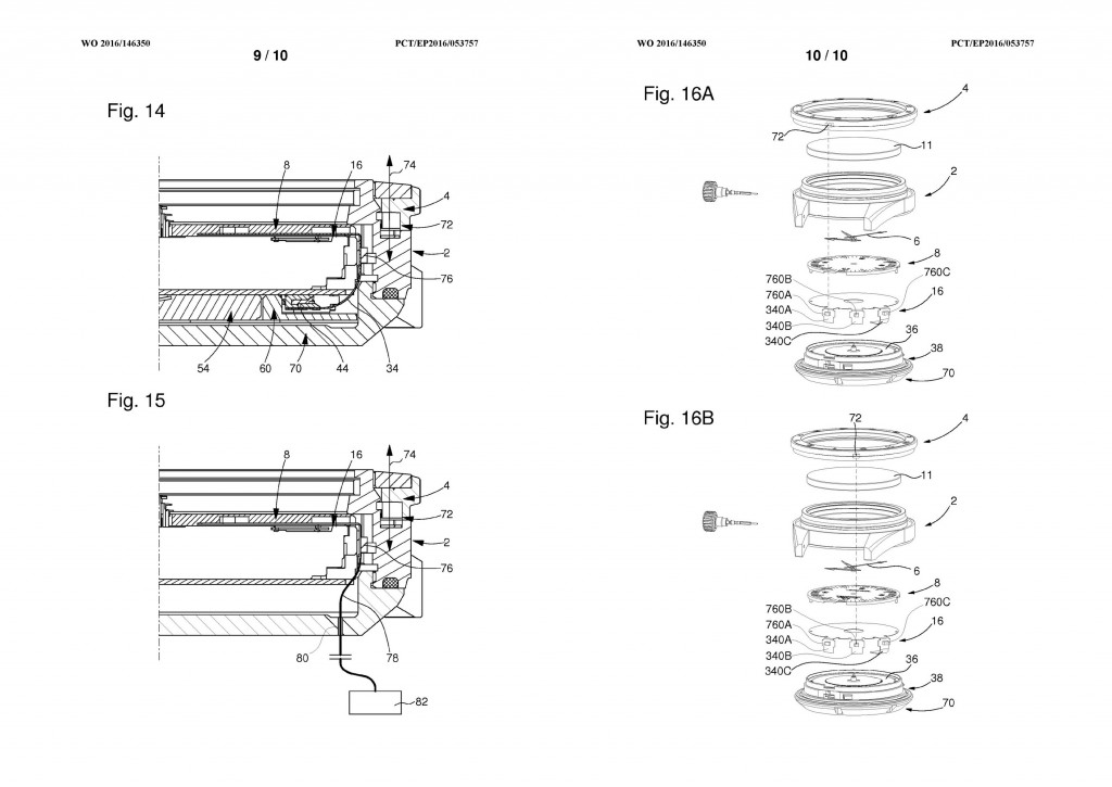Omega Seamaster 300 Electrical Light Patent / Pic 9-10