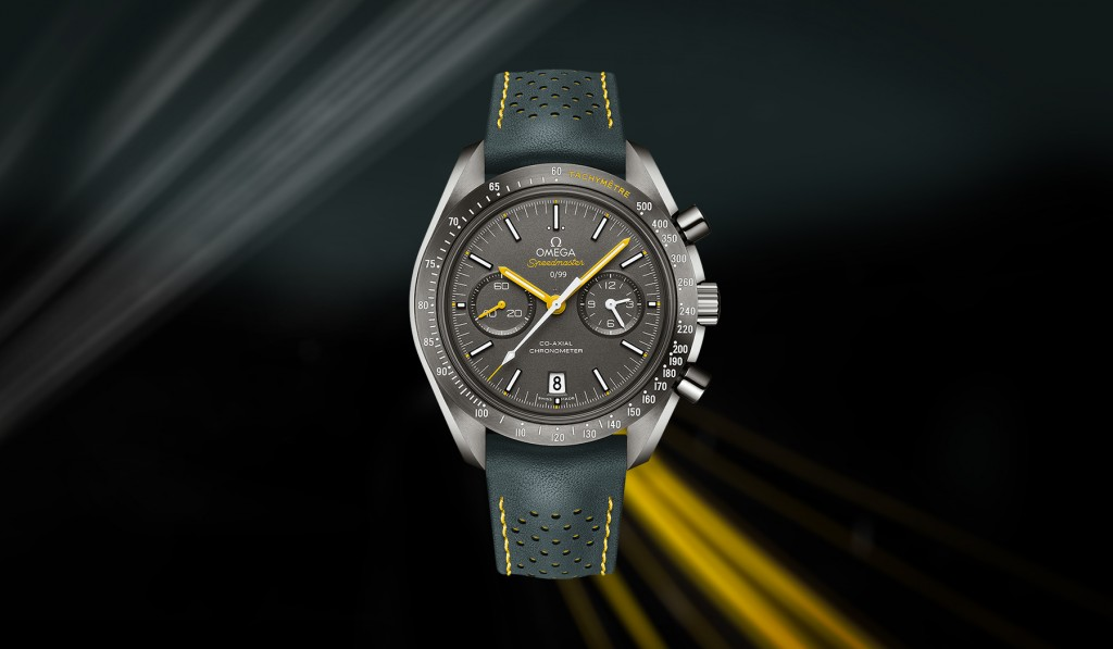 Speedmaster Moonwatch Co-Axial Grey Side of the Moon / Porsche Club of America