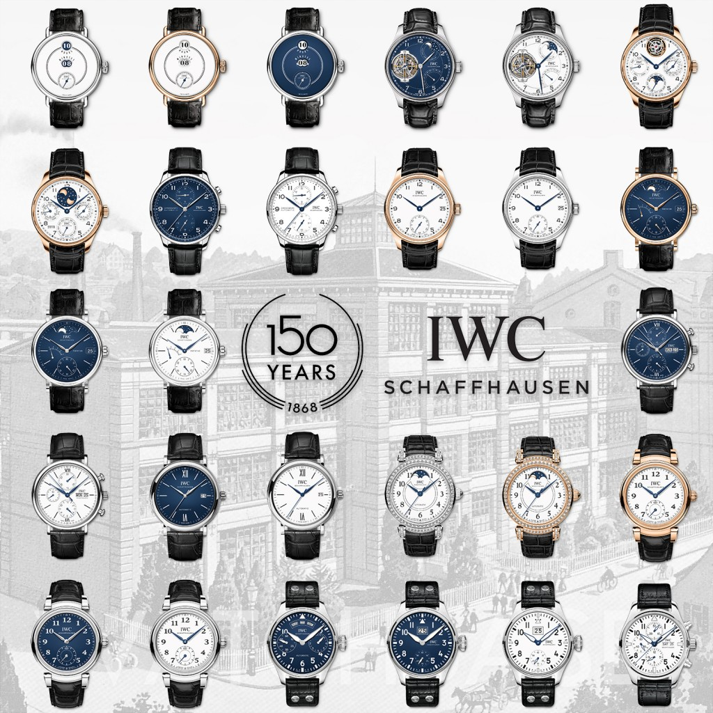 IWC 150th Anniversary 2018 SIHH Collection